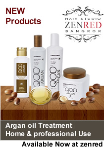 Argan Oil hair Treatment Bangkok