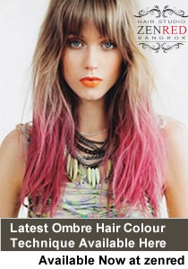 Ombre Hair Colour Bangkok