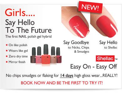 Shellac CND Nails & OPI