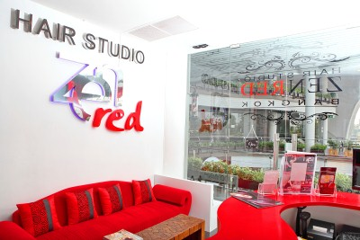 Thailands Zenred Hair Studio in Bangkok
