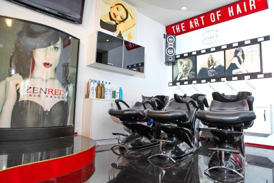 New Zenred Hair Salon in Bangkok Thailand